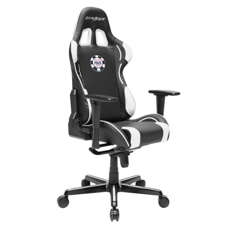Кресло игровое DXRacer Formula OH/FY181/NW/POKER Special Edition, Black white