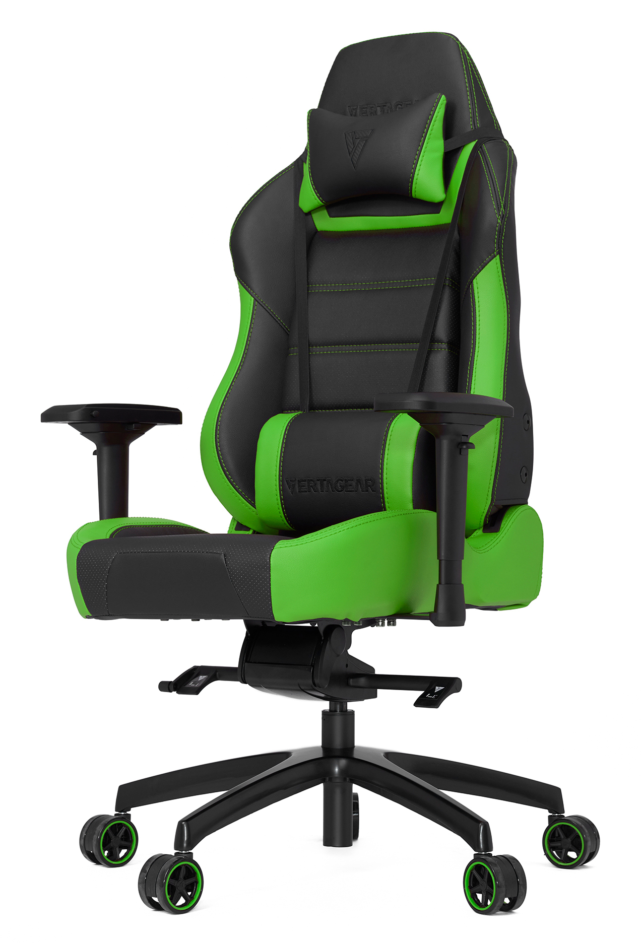 Геймерское кресло Vertagear Racing Series P-Line PL6000 Black/Green