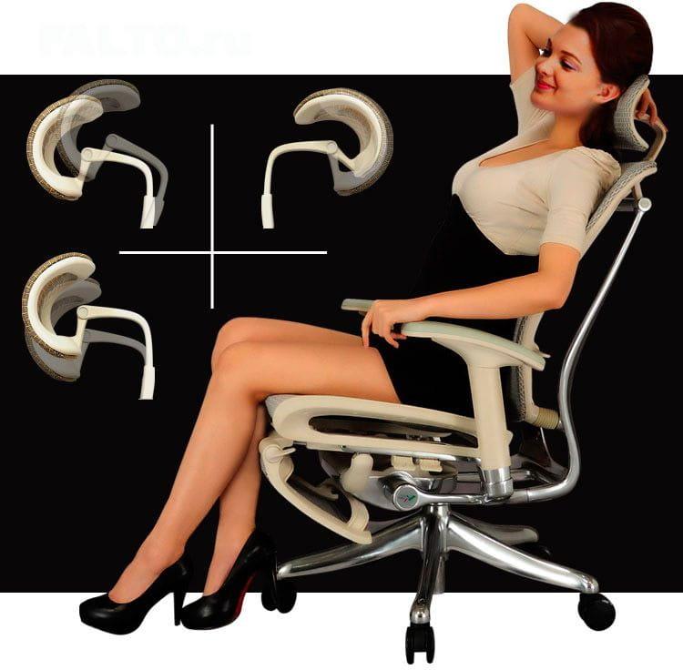 Характеристики кресла Expert Spring с подножкой