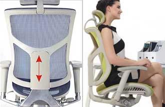 Спинка кресла Expert Star с подножкой