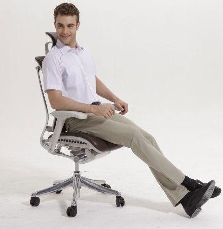 Эргономичное кожаное кресло Expert Spring Leather