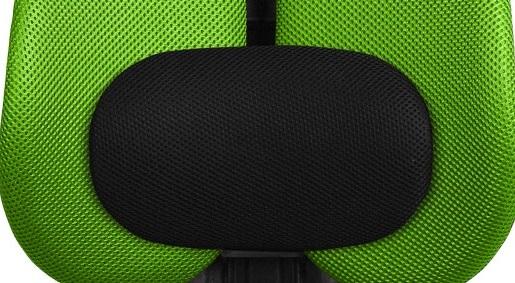Кресло с двойной спинкой и поясничным валиком Sinif Duo Gini обивка