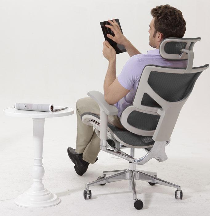 Эргономичное кожаное кресло Expert Sail