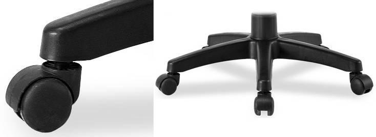 Кресло с двойной спинкой и поясничным валиком Sinif Duo Gini основание