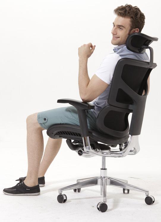 Эргономичное кожаное кресло Expert Sail Leather